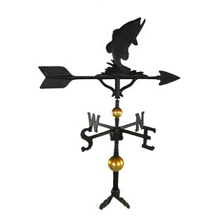 Deluxe Bass Weathervane By Montague Metal Products Inc.