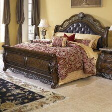 Josselyn Sleigh Bed by Astoria Grand