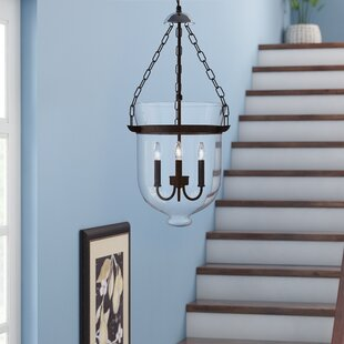 Three Posts Erdmann 3-Light Urn Pendant
