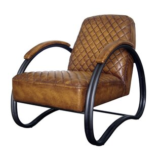 Westland and Birch Contessa Top Grain Leather Lounge Chair