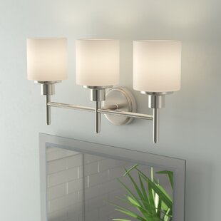 Reviews Buckleys 3-Light Vanity Light By Zipcode Design
