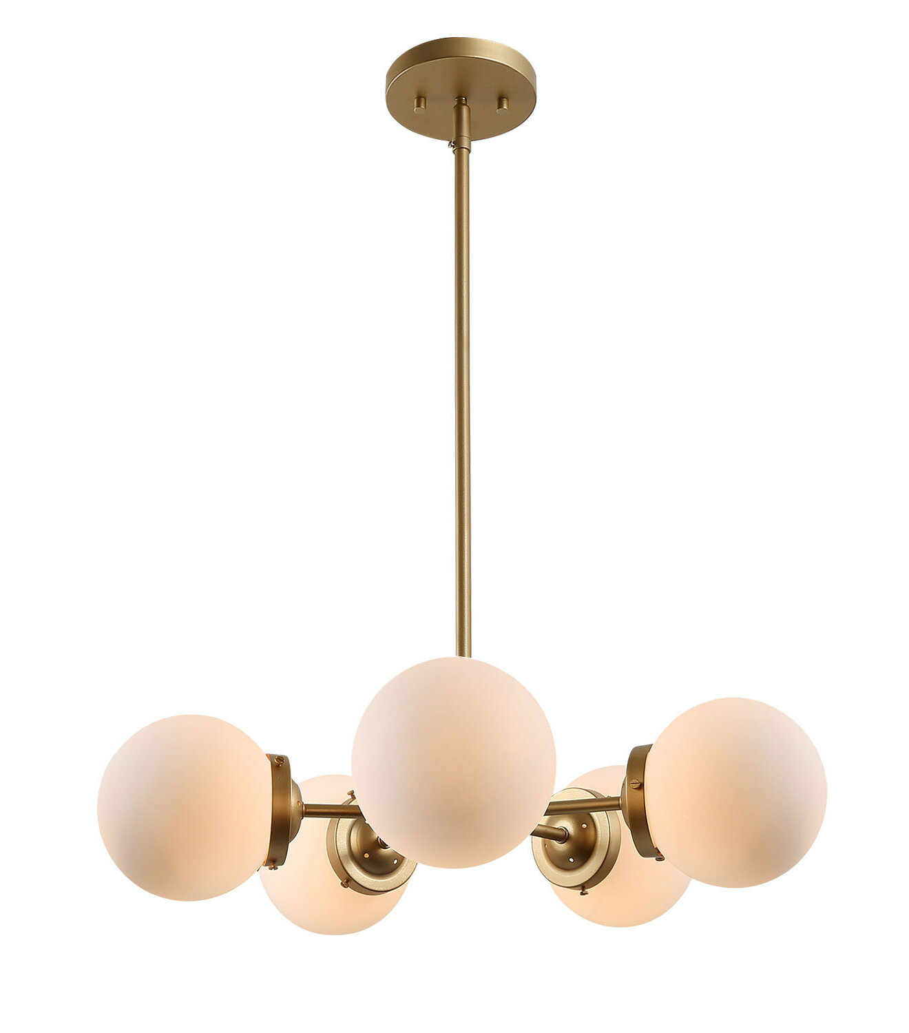 Brayden Studio Areswell 5 Light Sputnik Sphere Chandelier Wayfair