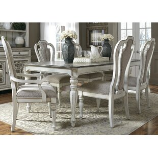 Tiphaine 7 Piece Extendable Dining Set