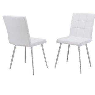 Kiera Upholstered Dining Chair (Set of 2) Orren Ellis