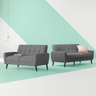 Eastlake 2 Piece Sofa Set By Hashtag Home