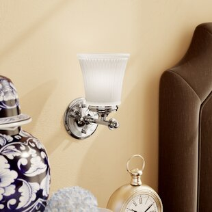 Hinde 1-Light Wall Sconce by C..