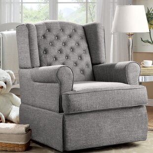 Demartino Swivel Glider by Harriet Bee