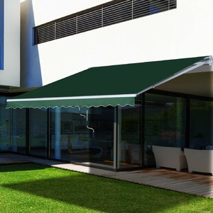 3.95 X 2.5m Retractable Patio Awning By Sol 72 Outdoor
