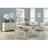Kaley 6 Piece Dining Set by August Grove®