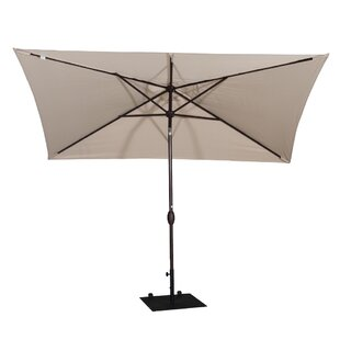 Jerrell 10' X 6.5' Rectangular Market Umbrella by Freeport Park New