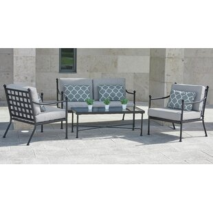 Read Reviews Labounty 4 Seater Sofa Set