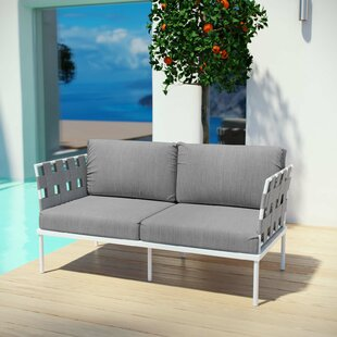 Darnell Outdoor Patio Love Seat