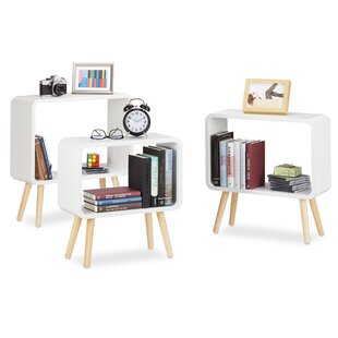Hettie 3 Piece Bookcase Set By Mercury Row