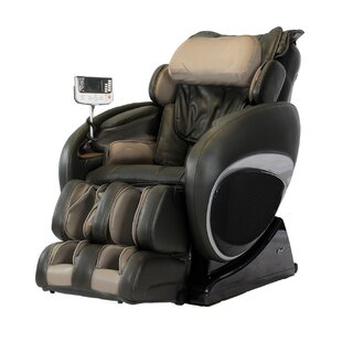 Faux Leather Zero Gravity Deluxe Massage Chair by Symple Stuff