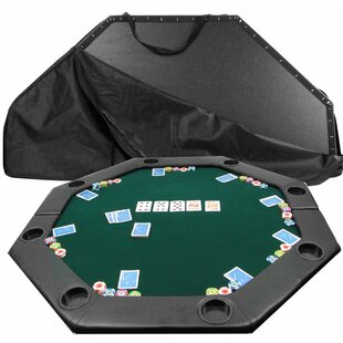 Octagon Padded Poker Table Cover by Trademark Global