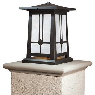 Beyer 1-Light LED Pier Mount Light by Millwood Pines