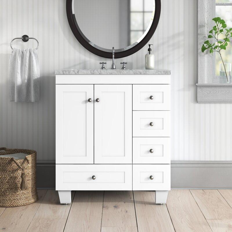 Birch Lane Talbotton 30 Free Standing Single Bathroom Vanity Set Reviews Wayfair