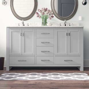 Poyen 60 Double Vanity Base Only By Charlton Home