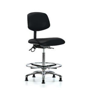Mae Drafting Chair by Symple Stuff Modern