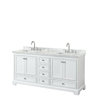 Deborah 72 Double Bathroom Vanity Set By Wyndham Collection