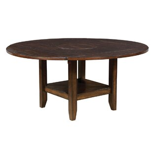 Berg Drop Leaf Solid Wood Dining Table