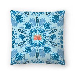 Kristine Lombardi Floral Folksy Throw Pillow