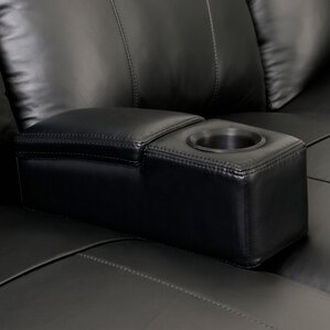 Modern Removable Home Theater Armrest with Storage by Ebern Designs