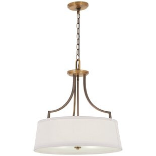 Mauer 4-Light Drum Chandelier by Gracie Oaks
