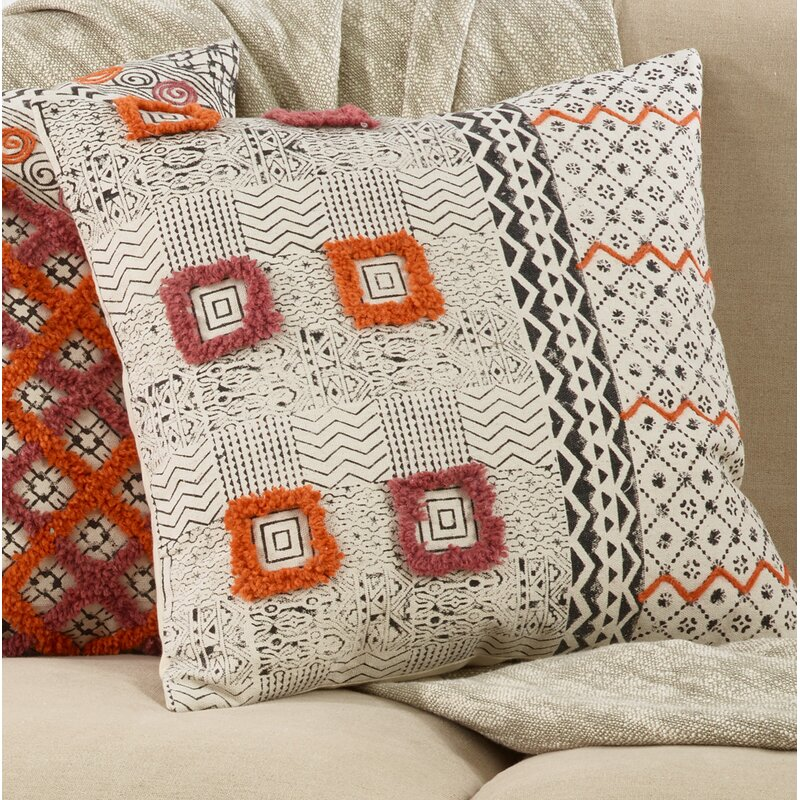 Bungalow Rose Bilboro Cotton Geometric
