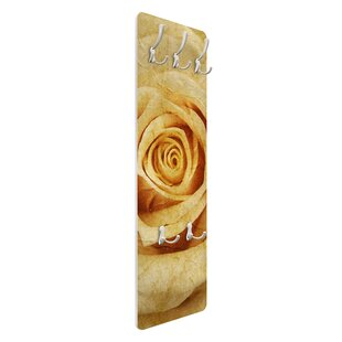 Vintage Rose Wall Mounted Coat Rack By Symple Stuff
