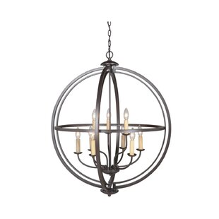 Brayden Studio Gluck 9-Light Globe Chandelier