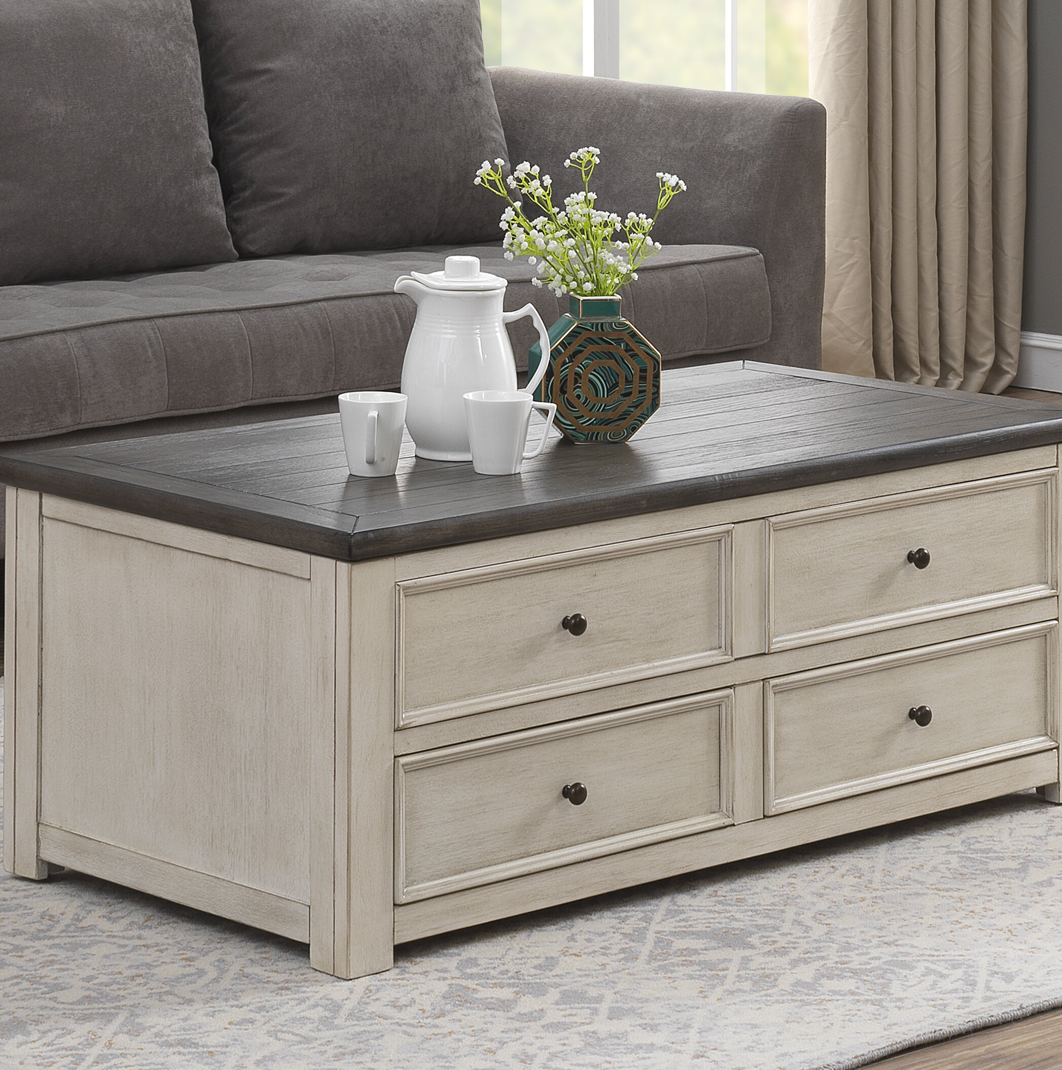 French Country Coffee Tables You Ll Love In 2020 Wayfair