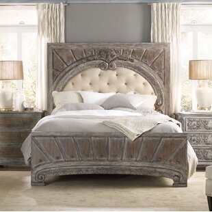 True Vintage Upholstered Panel Bed