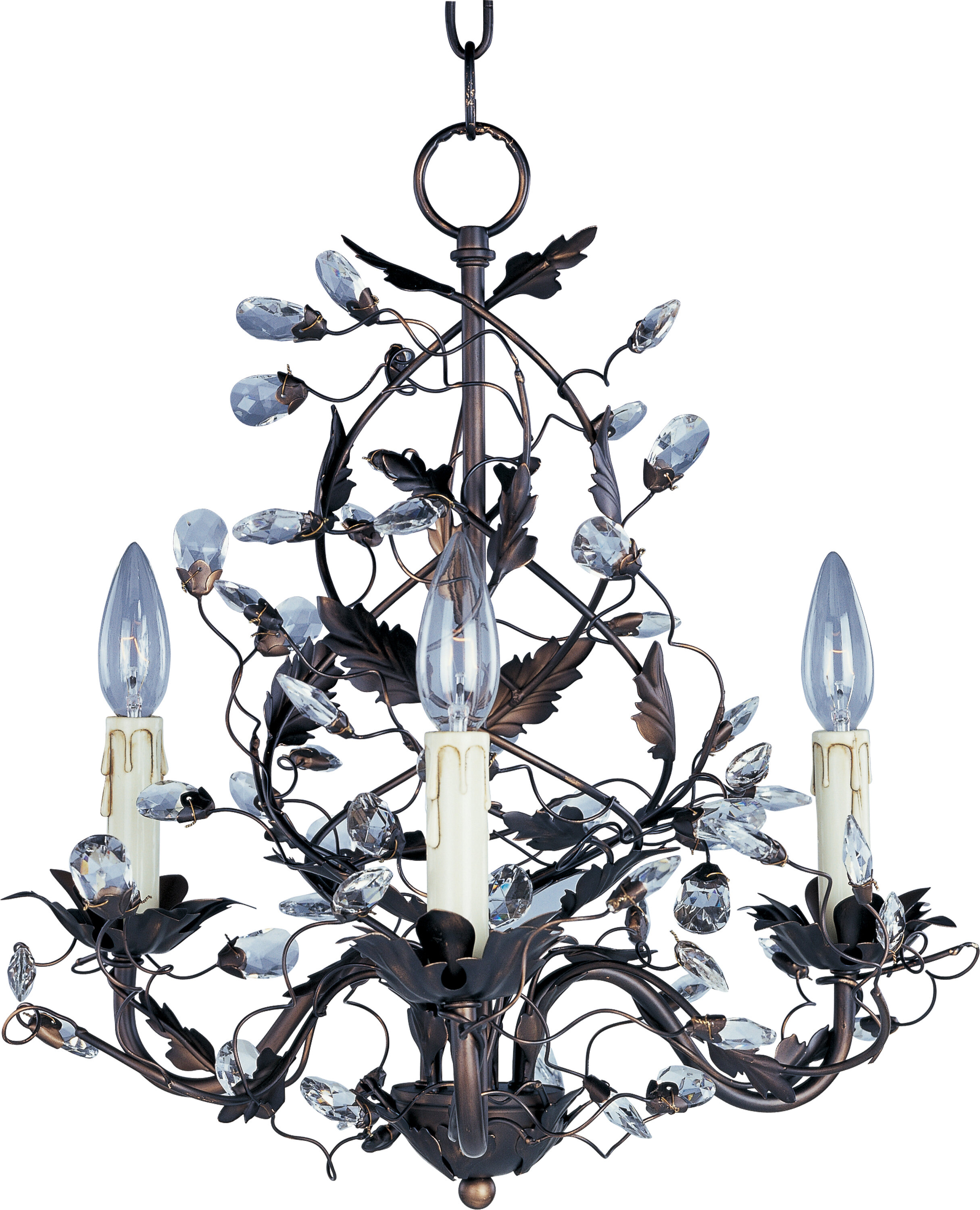 Bungalow rose kaiya 3 light candle style chandelier reviews wayfair aloadofball Image collections