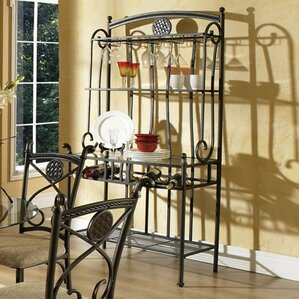 Aukerman Storage Baker's Rack by Red Barre..