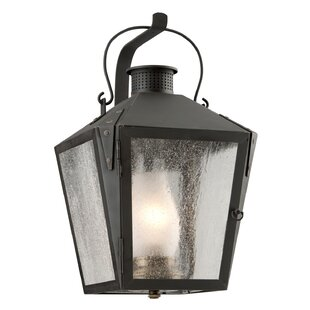 Online Reviews Adeline 1-Light Outdoor Wall Lantern By Longshore Tides