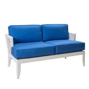 David Francis Furniture Mykonos Loveseat ..