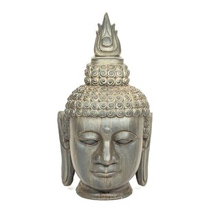 Mosley Buddha Head Statue By World Menagerie