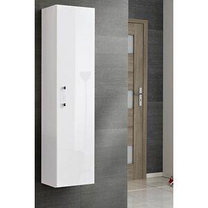 forvie 35 x 140cm wall mounted tall bathroom cabinet - Bathroom Cabinets Tall