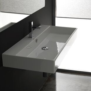 WS Bath Collections Ceramica II Unlimited Ceramic Ceramic Rectangular Vess..