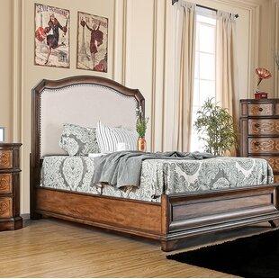 Astoria Grand Davet Upholstered Panel Bed