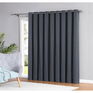 Strom Eco-Friendly Solid Max Blackout Thermal  Single Curtain Panel by Winston Porter