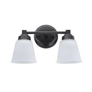Price comparison Farnham Metal 2-Light Vanity Light ByCharlton Home