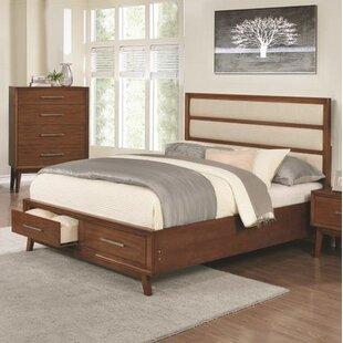 Corrigan Studio Marisol Upholstered Storage Platform Bed
