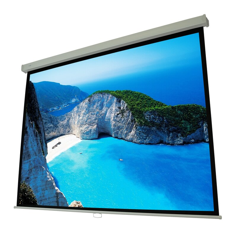 Cinema White Manual Projection Screen