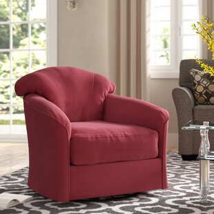 Exeter Swivel Barrel Chair by Klaussner Furniture