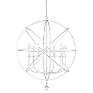 Wrought Studio Mortimer 10-Light Globe Chandelier