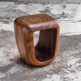 Kamille Solid Wood Decorative Stool by Corrigan Studio®