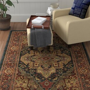 Red Area Rug by Home Loft Concept