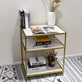 Zakrzewski 27'' H x 22'' W Etagere Bookcase by Everly Quinn